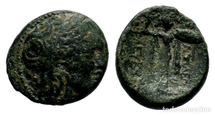 SELEUCIA PIERIA. SELEUKEIA PIERIA. AE I SIGLO A. C. 5,90 GR - 18,75 MM. MBC (Numismática - Periodo Antiguo - Grecia Antigua)