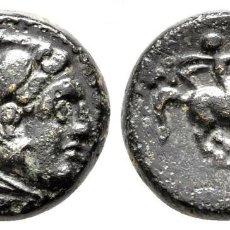 Monedas Grecia Antigua: MACEDONIA. FILIPO III ARRHIDAEUS 323-317 A.C. BRONCE Æ 13MM., 3,43G. EBC. Lote 203508136