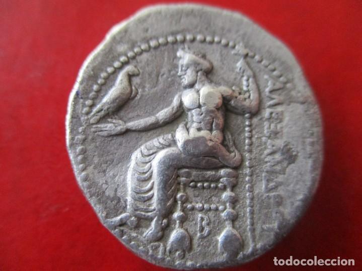 Monedas Grecia Antigua: Tetradracma de Alejandro magno. Thasos 333/327 ac. #SG - Foto 2 - 204408935
