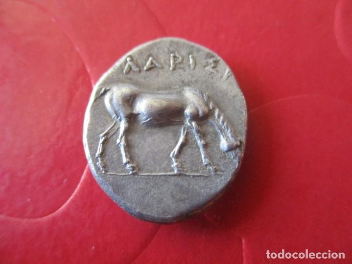 Monedas Grecia Antigua: Dracma de Larisa. Thessalia Illyria. 361/53 ac. #SG - Foto 2 - 204416747
