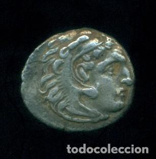 GRECIA - DRACMA DE PLATA DE ALEJANDRO III MAGNO. 3,87 GRAMOS. ORIGINAL. (Numismática - Periodo Antiguo - Grecia Antigua)