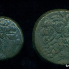 Monedas Grecia Antigua: GRECIA -LOTE MONEDAS DE BRONCE - PTOLOMEO III 246 / 222 A. C. + HIERON II 270 / 215 A.C. ORIGINALES. Lote 204703935