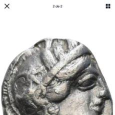 Monedas Grecia Antigua: BONITOTETRADRACMA ATTICA LECHUZA ATENAS. Lote 205203847