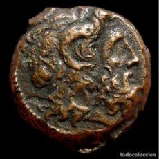Monedas Grecia Antigua: REINO PTOLEMAICO DE EGYPTO Æ 18 - 116-51 A.C. ZEUZ / DOS AGUILAS. Lote 206915800