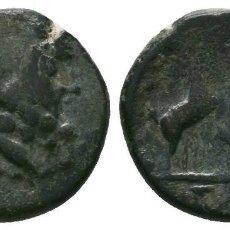 Moedas Grécia Antiga: MACEDONIA TESALONIA. THESSALONICA Æ19 / ZEUS Y CABRAS 2.67 GR 15 MM. ESCASA. MBC. Lote 209140993