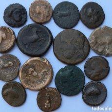 Monedas Grecia Antigua: MONEDAS GRIEGAS LOTE. Lote 213751310