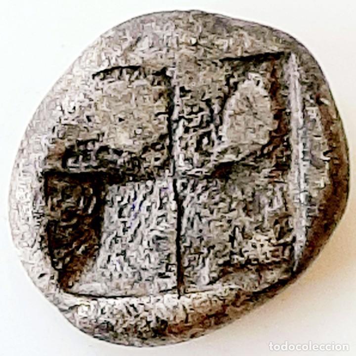 Monedas Grecia Antigua: Dióbolo Ionia Phokaia circa 521-478 a.c. - Foto 3 - 214482497