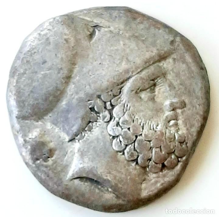 Monedas Grecia Antigua: Estátera-Stater Metapontium circa 340-330 - Foto 4 - 214467456