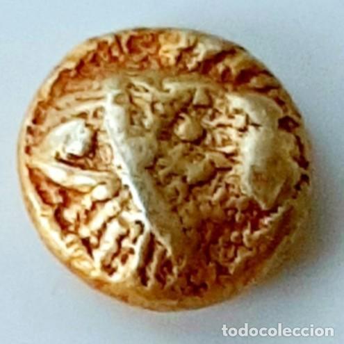 1/12 ESTÁTERA-STATER (1/2 HEKTE, HEMIHEKTE) ELECTRO MILETO CIRCA 600-550 A.C. (Numismática - Periodo Antiguo - Grecia Antigua)