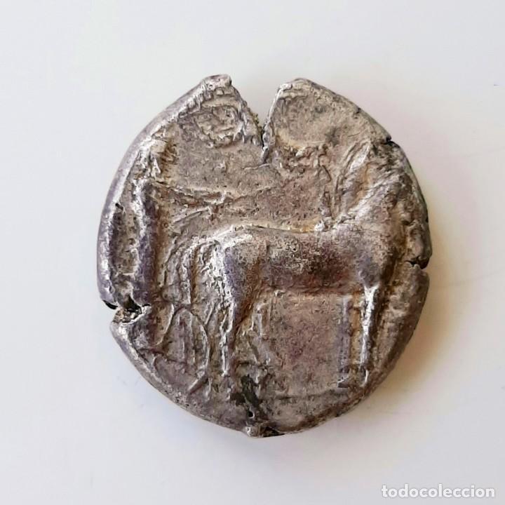 Monedas Grecia Antigua: Tetradracma Siracusa circa 420-415 a.c. - Foto 3 - 214468786