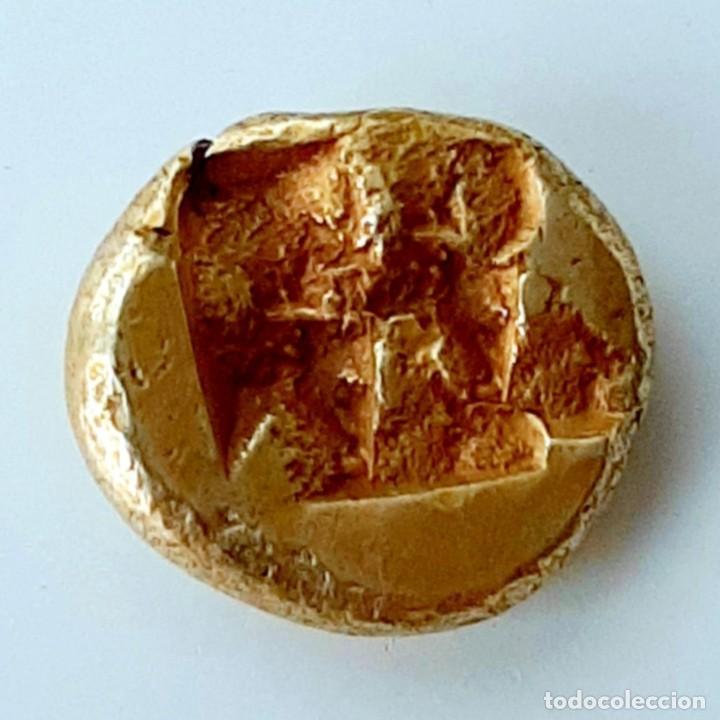 Monedas Grecia Antigua: 1/6 Estátera-Stater (Hekte) Electro Phokaia circa 521-478 a.c. Carnero sobre Foca - Foto 3 - 214638005