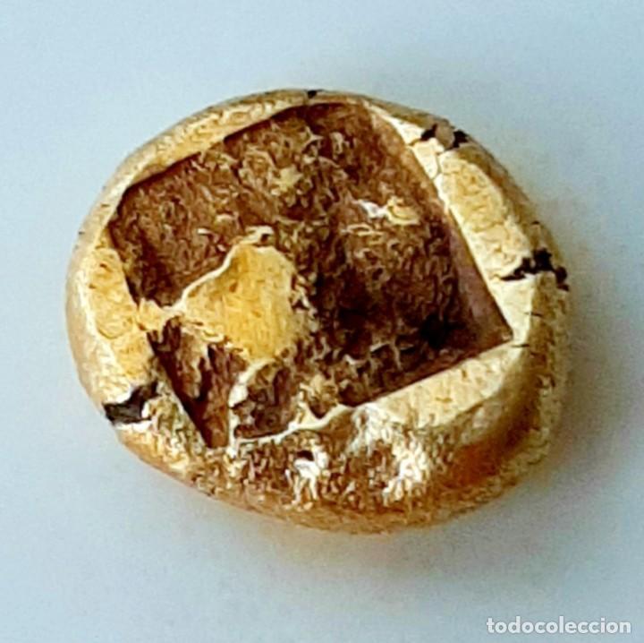 Monedas Grecia Antigua: 1/6 Estátera-Stater (Hekte) Electro Phokaia circa 521-478 a.c. Carnero sobre Foca - Foto 2 - 214638990