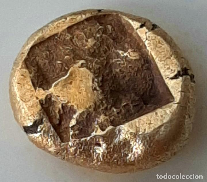 Monedas Grecia Antigua: 1/6 Estátera-Stater (Hekte) Electro Phokaia circa 521-478 a.c. Carnero sobre Foca - Foto 3 - 214638990
