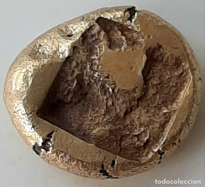 Monedas Grecia Antigua: 1/6 Estátera-Stater (Hekte) Electro Phokaia circa 521-478 a.c. Carnero sobre Foca - Foto 5 - 214638990