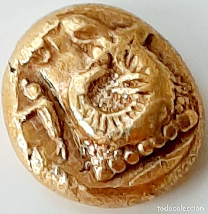 Monedas Grecia Antigua: 1/6 Estátera-Stater (Hekte) Electro Phokaia circa 521-478 a.c. Carnero sobre Foca - Foto 4 - 214642220