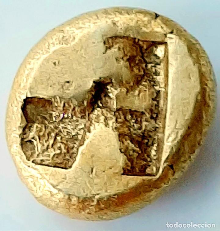 Monedas Grecia Antigua: 1/6 Estátera-Stater (Hekte) Electro Phokaia circa 521-478 a.c. Carnero sobre Foca - Foto 6 - 214642220