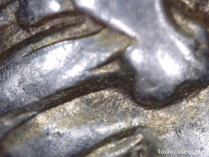"Monedas Grecia Antigua: 1/6 Estátera-Stater (Hekte) Electro Phokaia circa 478-387 a.c. Ninfa con ""sphendone"" - Foto 10 - 214815583"