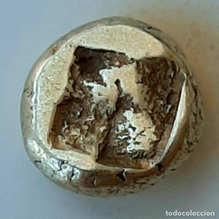 Monedas Grecia Antigua: 1/6 Estátera-Stater (Hekte) Electro Phokaia circa 387-326 a.c. Atenea - Foto 2 - 214820306