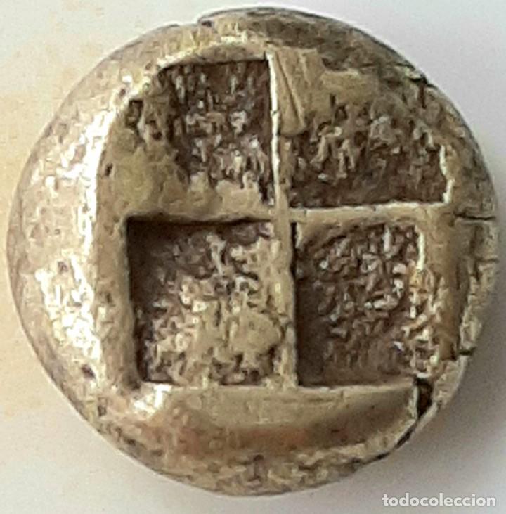 """Monedas Grecia Antigua: 1/6 Estátera-Stater (Hekte) Electro Phokaia circa 387-326 a.c. Ninfa con """"sakkos"""" - Foto 6 - 214827963"""