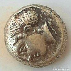 """Monedas Grecia Antigua: 1/6 ESTÁTERA-STATER (HEKTE) ELECTRO PHOKAIA CIRCA 477-388 A.C. NINFA CON """"SAKKOS"""". Lote 214941540"""