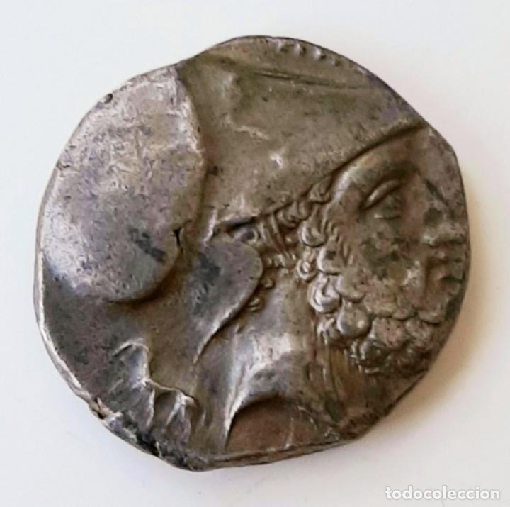 ESTÁTERA-STATER METAPONTIUM CIRCA 340-330 A.C. GRAFITTI (Numismática - Periodo Antiguo - Grecia Antigua)