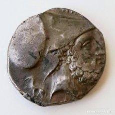 Monedas Grecia Antigua: ESTÁTERA-STATER METAPONTIUM CIRCA 340-330 A.C. GRAFITTI. Lote 214486672