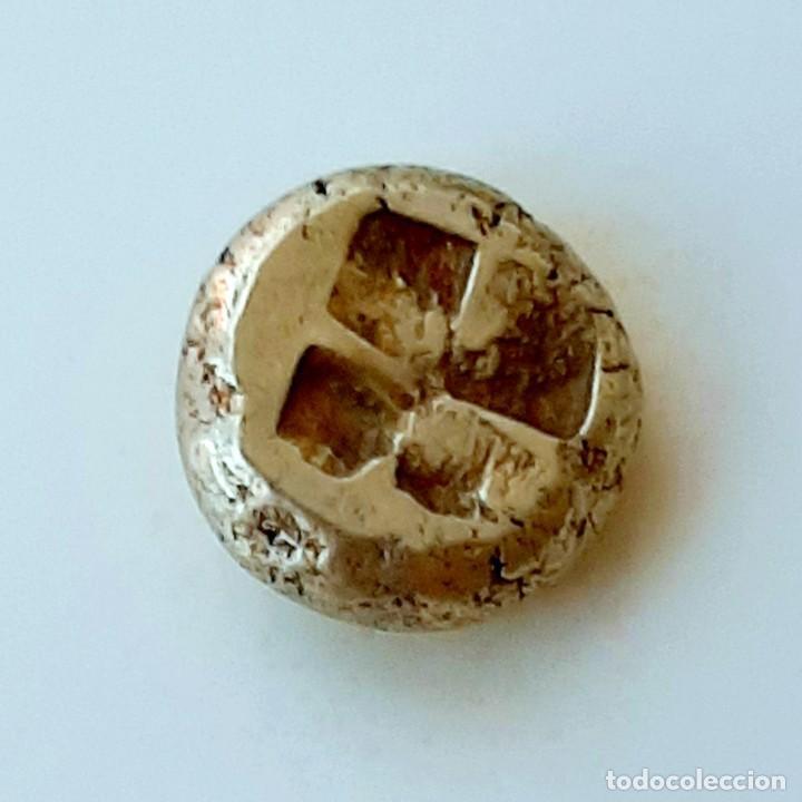"Monedas Grecia Antigua: 1/6 Estátera-Stater (Hekte) Electro Phokaia circa 478-387 a.c. Ninfa con ""sphendone"" - Foto 16 - 214815583"