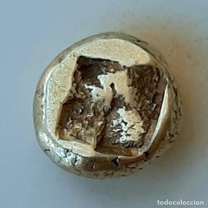 Monedas Grecia Antigua: 1/6 Estátera-Stater (Hekte) Electro Phokaia circa 387-326 a.c. Atenea - Foto 9 - 214820306