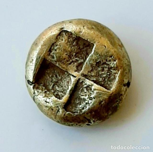"""Monedas Grecia Antigua: 1/6 Estátera-Stater (Hekte) Electro Phokaia circa 387-326 a.c. Ninfa con """"sakkos"""" - Foto 8 - 214827963"""