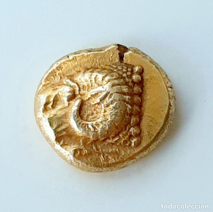 Monedas Grecia Antigua: 1/6 Estátera-Stater (Hekte) Electro Phokaia circa 521-478 a.c. Carnero sobre Foca - Foto 7 - 214638005