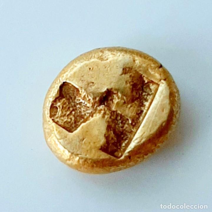 Monedas Grecia Antigua: 1/6 Estátera-Stater (Hekte) Electro Phokaia circa 521-478 a.c. Carnero sobre Foca - Foto 8 - 214642220