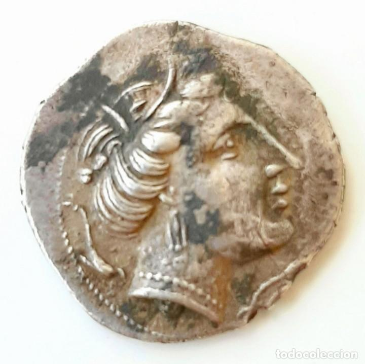 DRACMA EMPORION CIRCA 218-212 A.C. (Numismática - Periodo Antiguo - Grecia Antigua)
