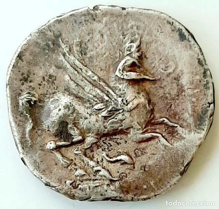 Monedas Grecia Antigua: Dracma Emporion circa 218-212 a.c. - Foto 4 - 214489321