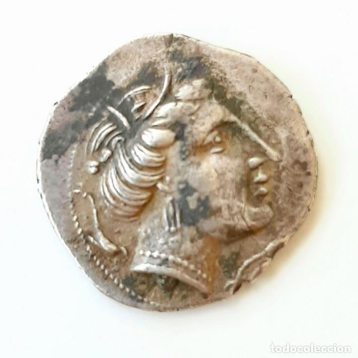 Monedas Grecia Antigua: Dracma Emporion circa 218-212 a.c. - Foto 6 - 214489321
