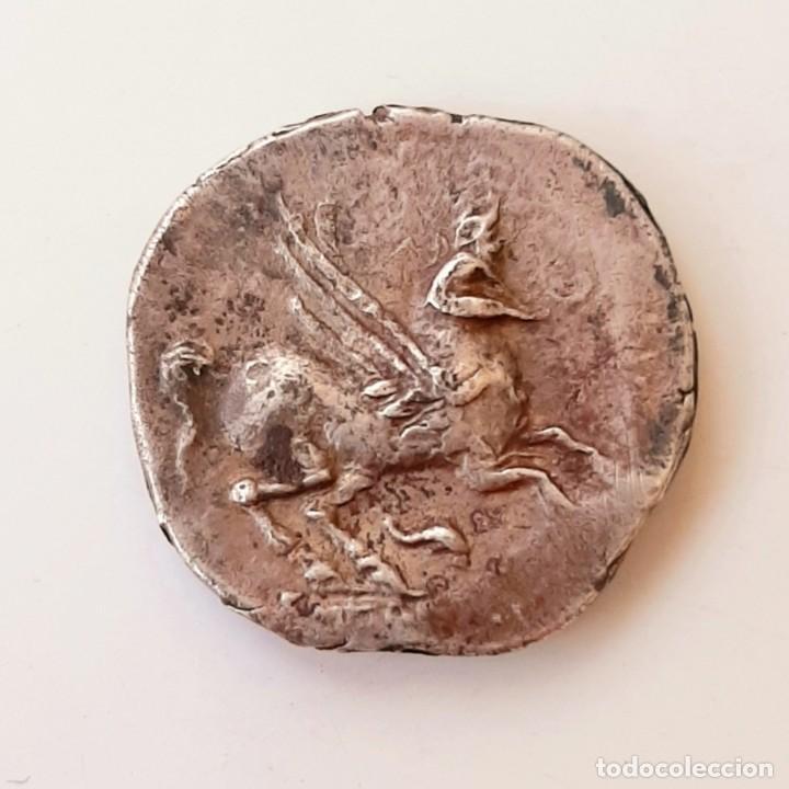 Monedas Grecia Antigua: Dracma Emporion circa 218-212 a.c. - Foto 7 - 214489321