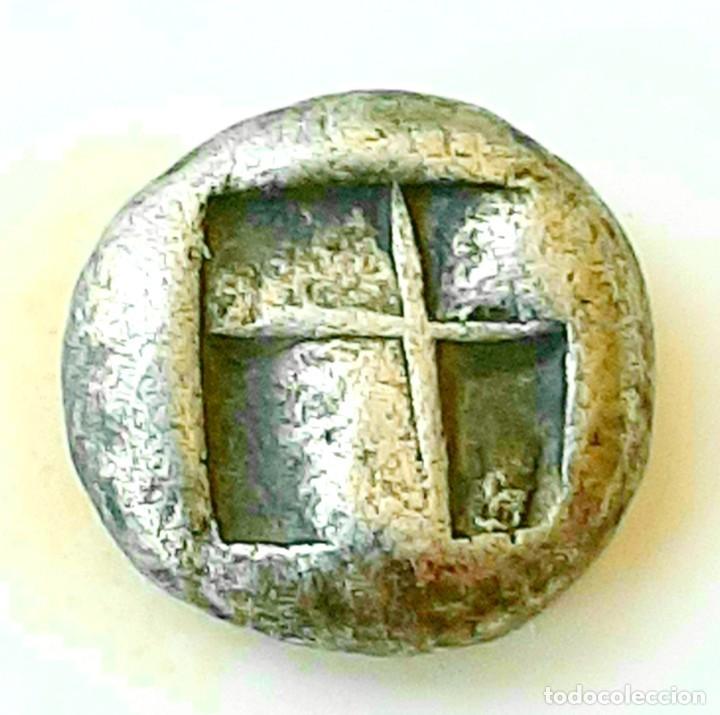 Monedas Grecia Antigua: 1/6 Estátera-Stater (Hekte) Electro Lampsakos? circa 500-450 a.c. - Foto 2 - 214798947