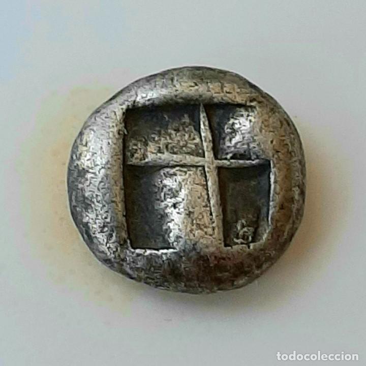 Monedas Grecia Antigua: 1/6 Estátera-Stater (Hekte) Electro Lampsakos? circa 500-450 a.c. - Foto 11 - 214798947