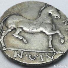 Monedas Grecia Antigua: RÉPLICA MONEDA AÑOS 360-340 A.C. 1 DRACMA. PHALANNA, TESALIA, GRECIA. CABALLO. Lote 216993533