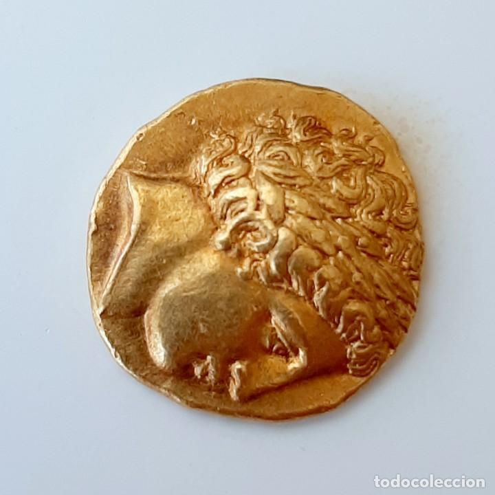 Monedas Grecia Antigua: Estátera-Stater Oro Filipo II circa 340-328 a.c. Pella - Foto 7 - 214769715