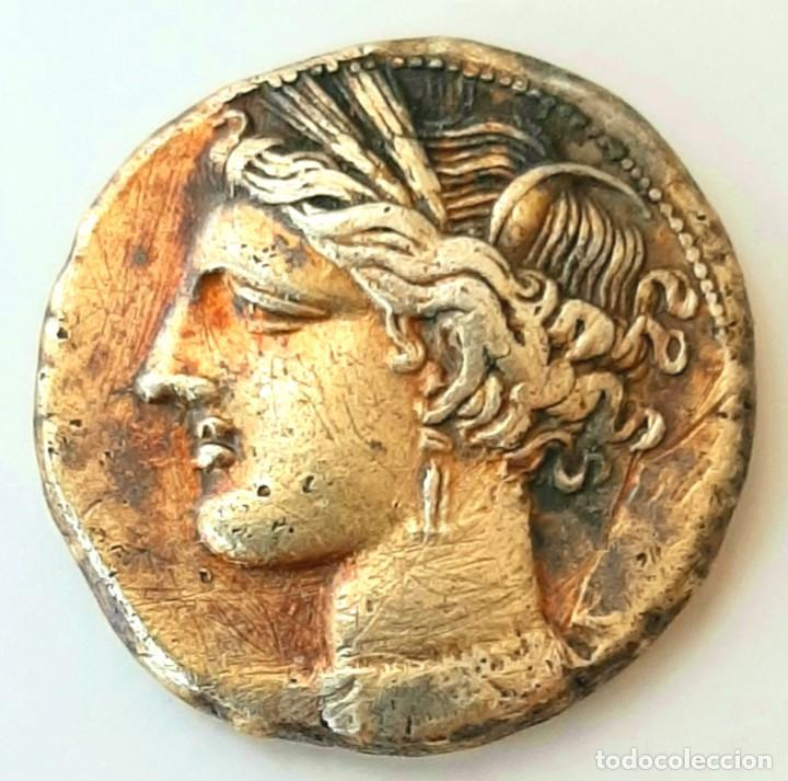 ESTÁTERA-STATER ELECTRO CARTAGINENSE CIRCA 310-270 A.C. ZEUGITANA (Numismática - Periodo Antiguo - Grecia Antigua)