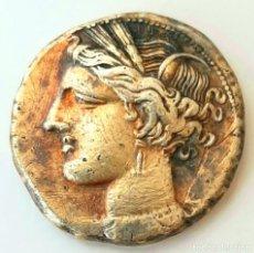 Monedas Grecia Antigua: ESTÁTERA-STATER ELECTRO CARTAGINENSE CIRCA 310-270 A.C. ZEUGITANA. Lote 214739886