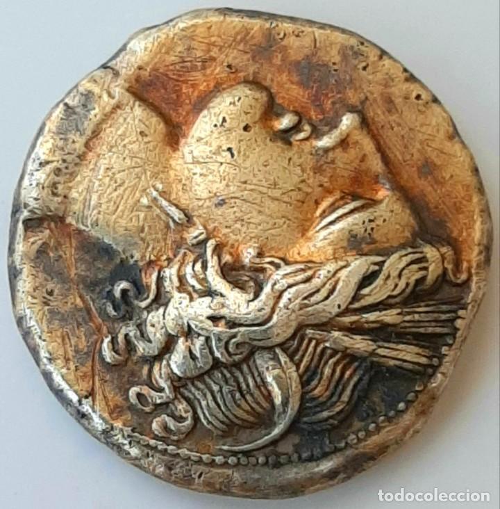 Monedas Grecia Antigua: Estátera-Stater Electro Cartaginense circa 310-270 a.c. Zeugitana - Foto 9 - 214739886