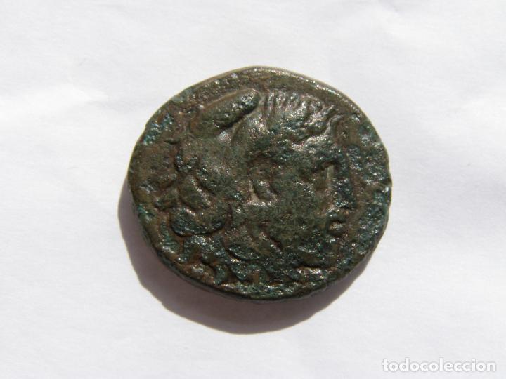REINO DE MACEDONIA.FILIPO V. DOBLE UNIDAD. BRONCE MEDIANO. SIGLO III AC (Numismática - Periodo Antiguo - Grecia Antigua)