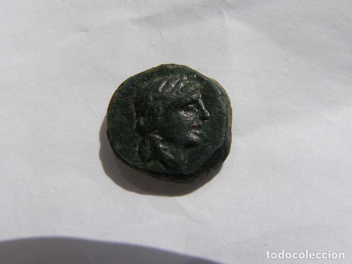 SELEUCIA. ANTIOCOS III EL GRANDE. 223-187 AC. EXTRAORDINARIO BRONCE. ELEFANTE (Numismática - Periodo Antiguo - Grecia Antigua)