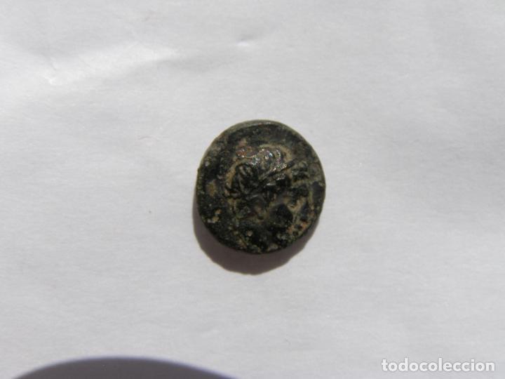 MYSIA. LAMPSAKOS.BRONCE. SIGLO IV-III AC.APOLO Y PEGASO ALADO (Numismática - Periodo Antiguo - Grecia Antigua)