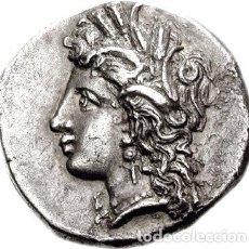 Monedas Grecia Antigua: PRECIOSA MONEDA GRIEGA LUCANIA METAPONTION DEMETER ESPIGA EX-CNG. Lote 219008426