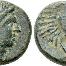 Monedas Grecia Antigua: TROAS. ANTANDROS. AE (SIGLOS IV-III A. C.). EBC. CABEZA LAUREADA DE APOLO A LA DERECHA. / LEÓN. Lote 222019162