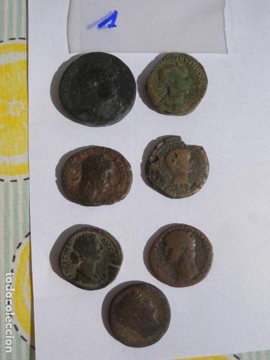 LOTE 7 MONEDAS (Numismática - Periodo Antiguo - Grecia Antigua)