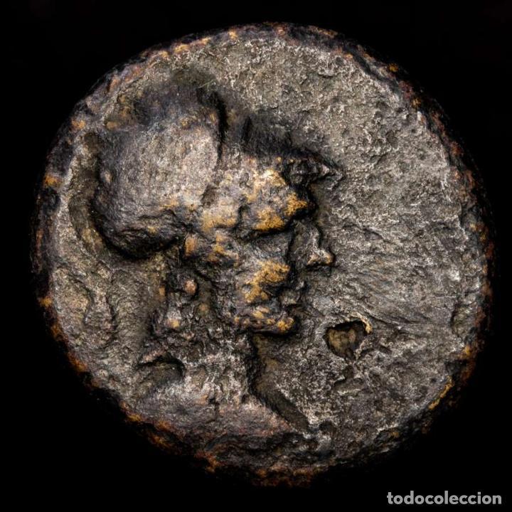 GRECIA ANTIGUA - FRIGIA. APAMEIA. 80-40 AC. Æ 24. ATENA / GORROS (Numismática - Periodo Antiguo - Grecia Antigua)