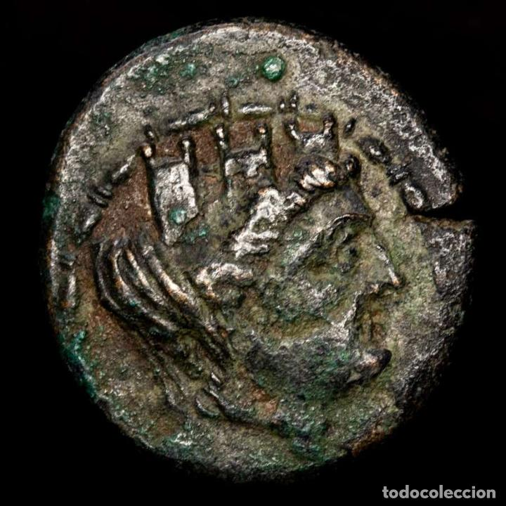 Monedas Grecia Antigua: Tarsos, Cilicia AE20 - Antiochos IV, 174-164 aC. - Sandan, Leon. - Foto 2 - 222590618
